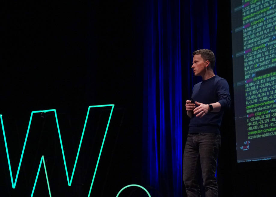 Talk: Who will build the next billion websites? Webflow CEO Vlad Magdalin at Awwwards Conference San Francisco